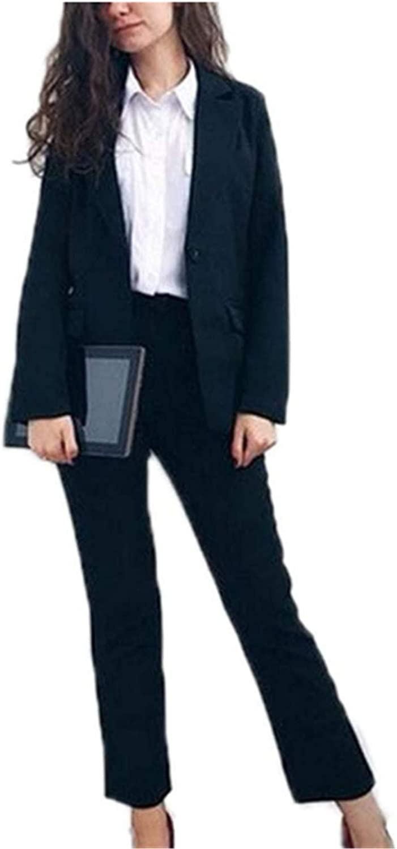 Black Casual Women Suits Blazer Set Ladies Office Suits Wedding Tuxedos Party Wear Suits