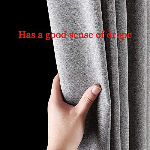 Douchegordijn Waterdicht Badkamer Gordijnen Wasbaar Stoffen Badkamerdecoratieset Met Haakjes,Gray,200 x 180 (H) cm