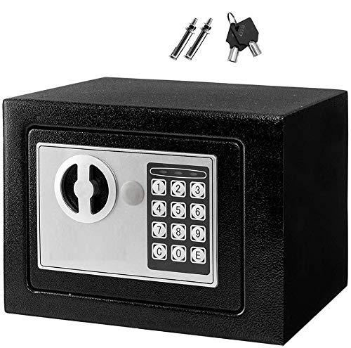 Savya home® Home Security Electronic Safe,Locker,Chest,Safe Box (White)