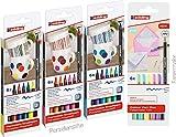 Edding 4200 - Juego de rotuladores de porcelana (18 unidades) + 6 rotuladores pastel, edición nueva