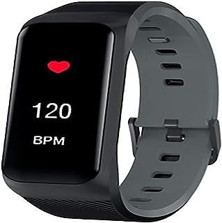 DSN Monitores de Actividad Pulsera Actividad Inteligente, Pulsómetro Presión Arterial Pulsera Actividad Inteligente Impermeable Monitor Calorías Mujeres Hombres iOS Android