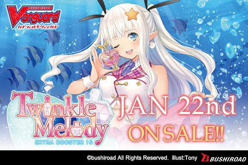 Cardfight Vanguard Twinkle Melody CFV VEB15 Extra Booster Box - 12 Packs