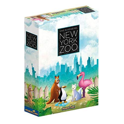 New York Zoo, Brettspiel (DE), für 1-5 Spieler, ab 10 Jahren