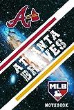 Atlanta Braves Sport Notebook & Journal With Logo Team Atlanta Braves NFL , NHL , MLB , NCAA #A5