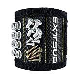 Extsud Bracelet Magnétique Bricolage Bracelet Porte-outils avec Aimants Forts pour Clous Vis Écrous Tournevis Pinces Bricolage
