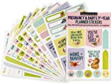 Essentials Pregnancy & Baby Planner Stickers (set of 300 stickers)