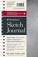 "Strathmore (STSKW) STR-025-535 Sketch Journal 80 Sheets, 5.5"" x 8.5"", Metallic Silver [並行輸入品]"