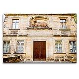 CALVENDO Premium Textil-Leinwand 120 x 80 cm Quer-Format Der alte Schlachthof von Bamberg, Leinwanddruck von Ingo Gerlach