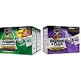 Hot Shot Fogger6 with Odor Neutralizer, 3/2-Ounce, 2-Pack & 95911 AC1688 Bedbug & Flea Fogger, Pack of 3, Purple