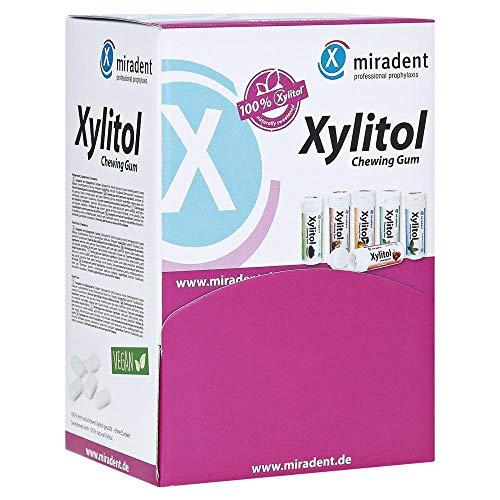 Miradent Caja de chicle de Xylitol 400 piezas