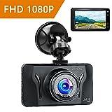 Mibao Cámara de Coche Dash Cam 1080P Full HD 170°Ángulo...