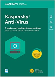 Kaspersky Anti-Virus 3 PC's - 1 ano (Digital - via download)