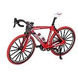 HeiHeiDa Modelo de bicicleta, Aleación de Metal Simular Modelo de Bicicleta de Montaje, Mini Bicicleta Dedo Modelo de Bicicleta de Carretera Modelo de Bicicleta de Montaña Cool Boy Toy Juego Creativo