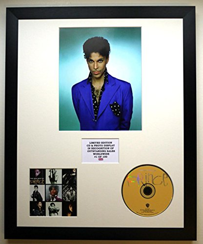 Prince/Photo & CD Display LTD. Edition des Albums The Very Best of