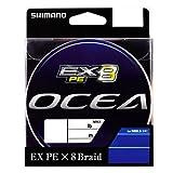 シマノ(SHIMANO) PEライン オシア EX8 400m 6号 99.0lb マルチカラー PL-088L 釣り糸