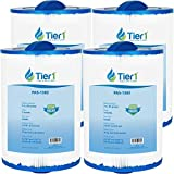 Tier1 Pool & Spa Filter Replacement for Maax Spas of Canada PAS35P, PMAX50, Filbur FC-0300, Unicel 5CH-35 - Pleated Filter to Reduce Water Contaminants - 4 Pack