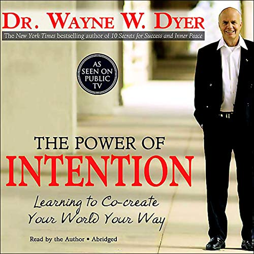 The Power of Intention audiobook cover art