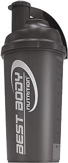 Best Body Nutrition Edition Shaker, 700ml, negro (Black steel)