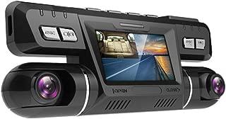 Grabadora de conducción, Grabadora de conducción oculta, Visión nocturna HD de doble lente, Monitoreo de estacionamiento de automóviles en gran angular, Grabación de bucle, Cobertura automática, Detección de movimiento, Detección de gravedad
