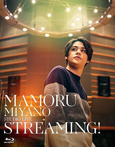【Amazon.co.jp限定】MAMORU MIYANO STUDIO LIVE ~STREAMING!~ Blu-ray(メガジャケ+缶バッチ(ジャケ絵柄)付き)