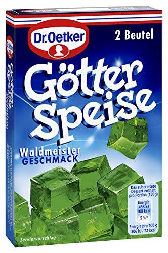Dr. Oetker Götterspeise Kochen Waldmeister-Geschmack, 12er Pack (12 x 23 g)