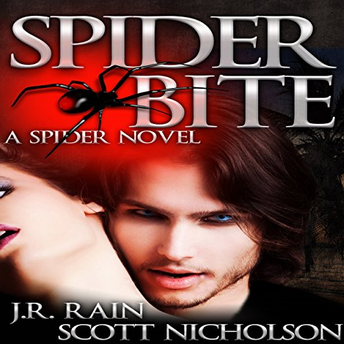 Spider Bite: A Vampire Thriller (The Spider Trilogy Book 3) audiobook cover art