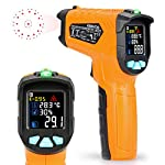 Infrared Thermometer Kasimir Digital Laser Non Contact Cooking IR Temperature Gun with Color Display for Kitchen Food Meat BBQ Automotive and Industrial