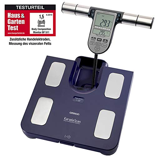 OMRON BF511 Clinically Validated Full Body Composition Monitor with 8...