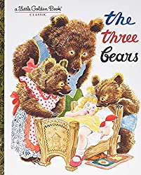 Cover of The Three Bears Little Golden Book