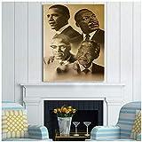 sjkkad Malcolm X Martin Luther König Barack Obama