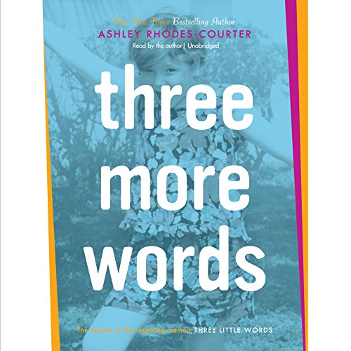 Three More Words audiobook cover art