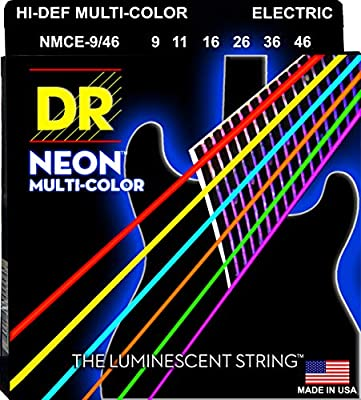 Neon Electric Guitar Strings (NMCE-9/46)