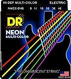 Best DR Strings Electric Guitar strings - DR Strings HI-DEF NEON Electric Guitar Strings (NMCE-9/46) Review