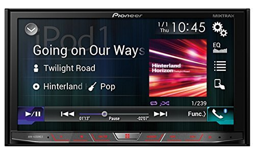 Pioneer AVH4200NEX 2-DIN Receiver with 7in Motorized Display/Built-In Bluetooth/Siri Eyes Free/AppRadio One/NEX (Renewed)