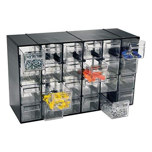 Sortimentskasten 24 Fach Schubladen Organizer Kleinteilemagazin Sortimentsboxen