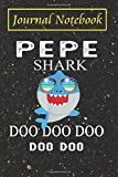 Fathers Day Journal Notebook - Mens Vintage Pepe Shark Doo Doo Doo Gift: 2020 Father's Day Gift ... To Write feelings, ideas and AWFUL DAD JOKES!