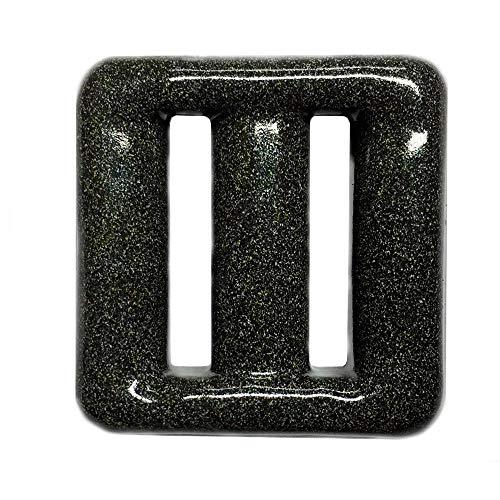 Pastilla Plomo plastificado para cinturón Buceo. 1 Kilo Grafito