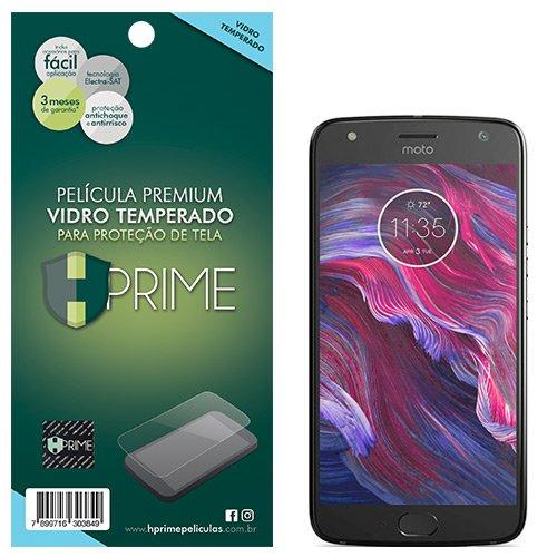 Pelicula de Vidro temperado 9h HPrime para Motorola Moto X4, Hprime, Película Protetora de Tela para Celular, Transparente