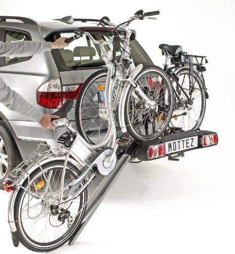 Mottez a028p2 deur 2 fietsen elektrische klikbevestiging
