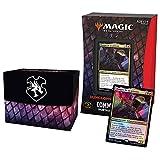Magic: The Gathering- Deck Commander Forgotten Realms : Aventuras en los reos oublées – Portalámparas (Rojo/Negro)