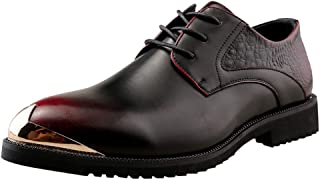 VonVonCo Shoes Elastic Durable Yoga Surf Sports Brogues Fashion Men Casual Leather Boots British Style Men