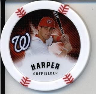 2013 Topps Chipz Baseball Poker Chip - Bryce Harper