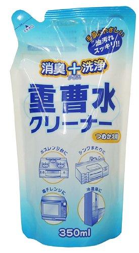 消臭+洗浄 重曹水クリーナー 詰替用 350mL