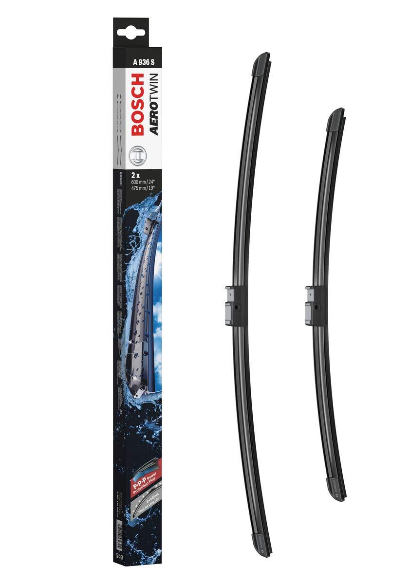 Escobilla limpiaparabrisas Bosch Aerotwin A936S, Longitud: 600mm/475mm – 1 juego para el parabrisas (frontal): Amazon.es: Coche y moto