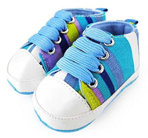 Axy Baby plastique Tapis Chaussures Chaussures bébé 0 à 12 mois – Sunshine Boy – Modèle 3 - Multicolore - Mehrfarbig,