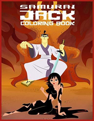 Samurai Jack Coloring Book: Libro para colorear de Samurai Jack
