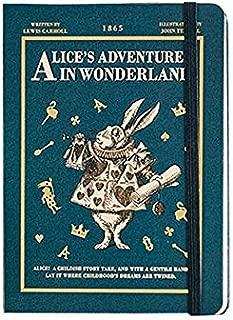 "New Version of 'Alice in Wonderland' New Year Agenda Undated Planner Scheduler Monthly Weekly Daily Scheduler Academic Planner Organizer Diary Journal Notebook, Hardcover, 224p, 5.1""X7.1"" (Navy)"