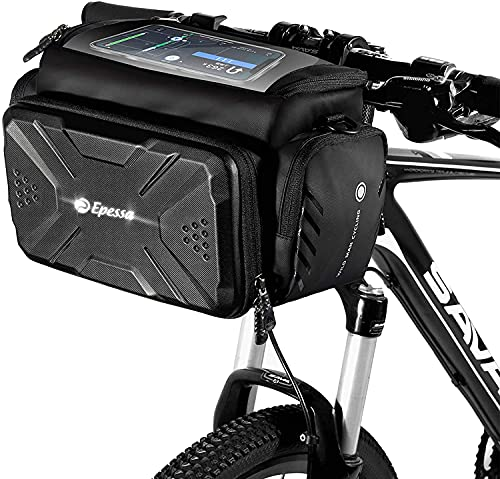 Epessa Bike Handlebar Bag,Bike Basket with Durable...