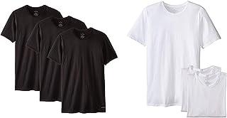 Calvin Klein Men's Cotton Classics Slim Fit 3 Pack Crew Neck Tshirts