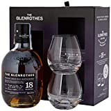 The Glenrothes 18 años Single Malt Whisky Escocés 43% + Pack Regalo 2 Vasos - 700 ml